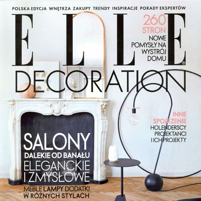 ELLE DECOR  - SEPT 2017
